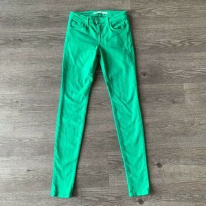 Joe's Jeans The Skinny Stretch Pants Mid Rise 26